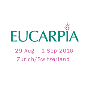 20th Eucarpia General Congress at ETH Zurich from 29 August to 1 September 2016