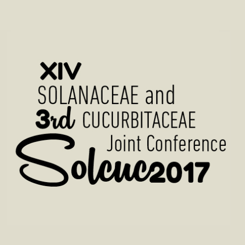 XIV Solanaceae and 3rd Cucurbitaceae Joint Conference, Valencia (Spain) 3-6 September 2017